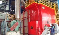Direct Hot Air Furnace with Waste Heat Boiler